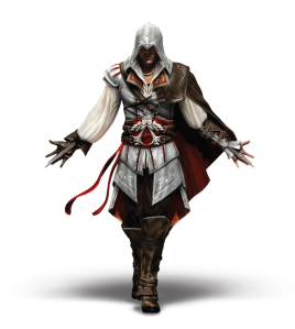 Altair was great and all, but Ezio is at least twice as bad ass.